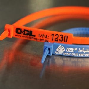 RigTags 175mm Blue 300mm Orange