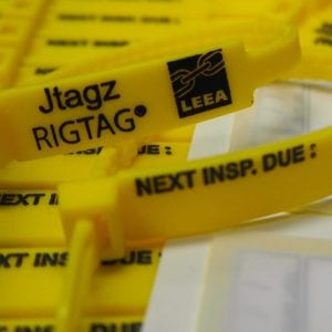 175mm RigTag® - Yellow
