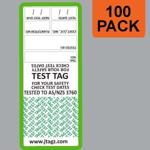 Green-Test-Tags